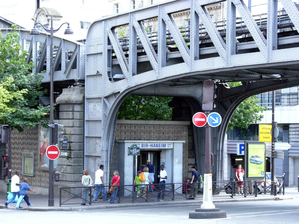 Bir-Hakeim bridge - 1